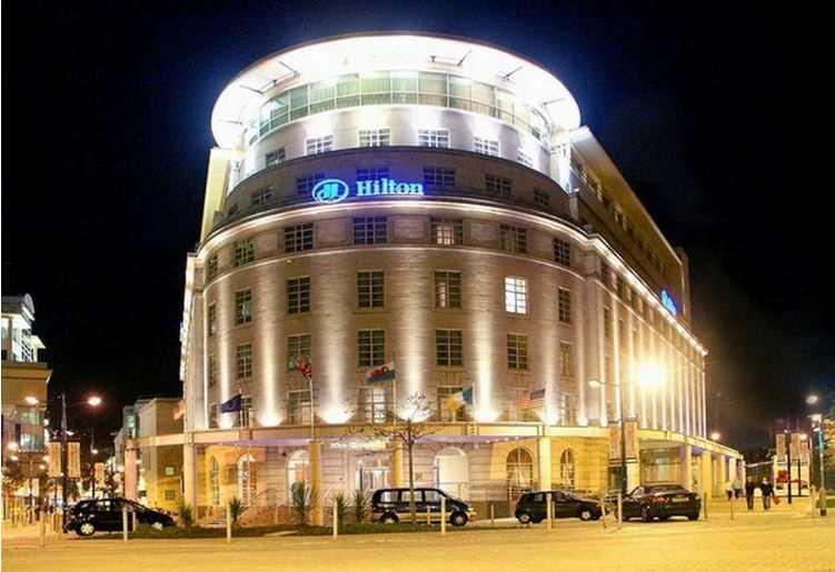 Hilton Hotel Kingsway Cardiff