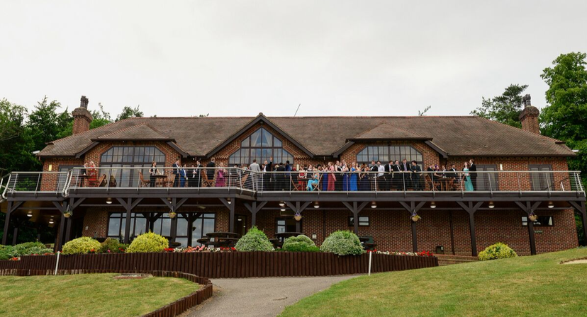 westerham golf club wedding venue in kent wedding reception