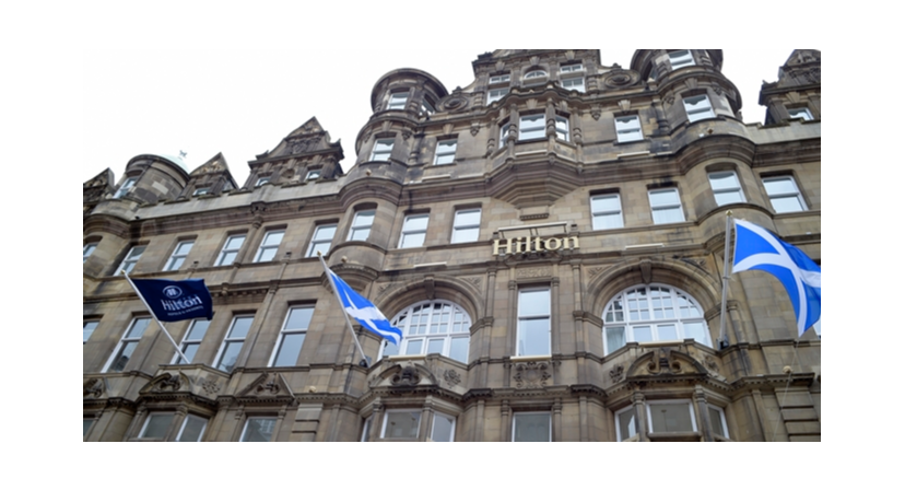 Overlooking The Bridge Picture Of Hilton Edinburgh Carlton
