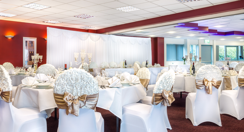 Holiday inn birmingham north cannock upcoming wedding for Wedding venues open late