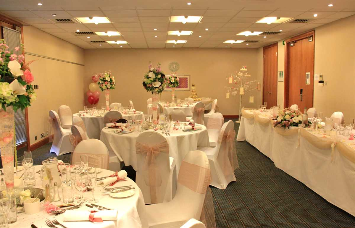 Holiday inn cambridge wedding reception venue for Wedding venues open late